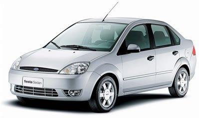 Sedã médio Ford Fiesta Sedan