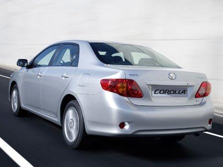 Sedã médio Toyota Corolla
