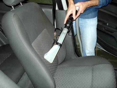 limpeza banco carro