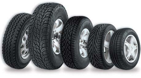 Números dos pneus