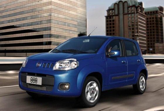 Especificações Novo Fiat Uno Economy 2012