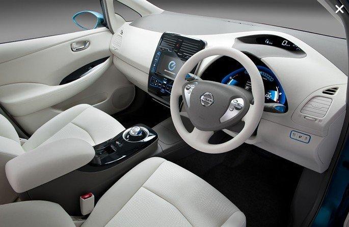 Nissan Leaf - Carro de Garagem