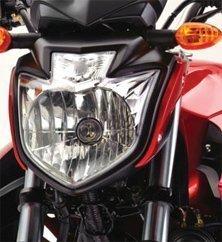 Novo farol da Yamaha Fazer YS250 2012