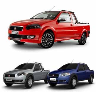 Lançamento Fiat Strada 2012