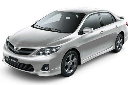 Corolla XRS na cor prata