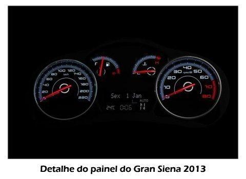 Grand Siena 2013 - Painel em detalhes