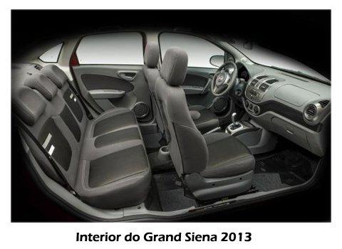 Grand Siena 2013 - Interior