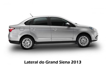 Lateral do Grand Siena 2013