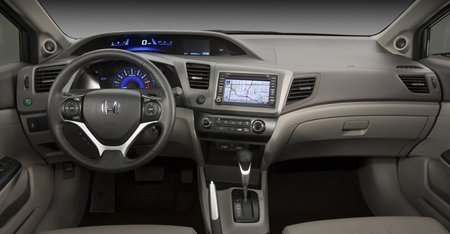 Novo Civic 2012 (interior)