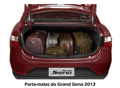 Grand Siena 2013 - Porta malas
