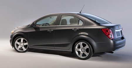 Chevrolet Sonic Sedã (lateral)