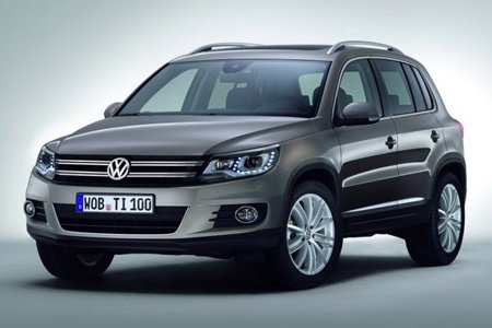 Frente do VW Tiguan