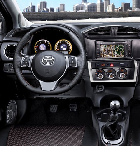 Interior do Novo Corolla
