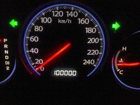 Veículo com 100 mil km
