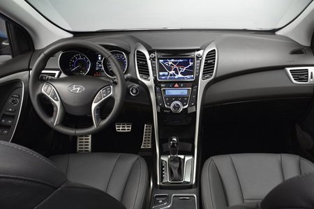 Interior do Hyundai i30 2013