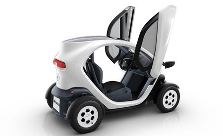 Lateral do Twizy