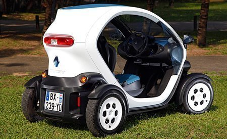 Traseira do Twizy