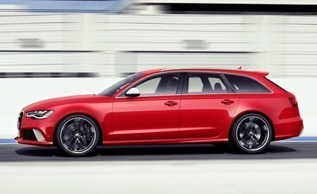 Lateral do RS6 Avant