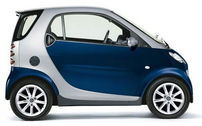 Modernidades do carro Smart
